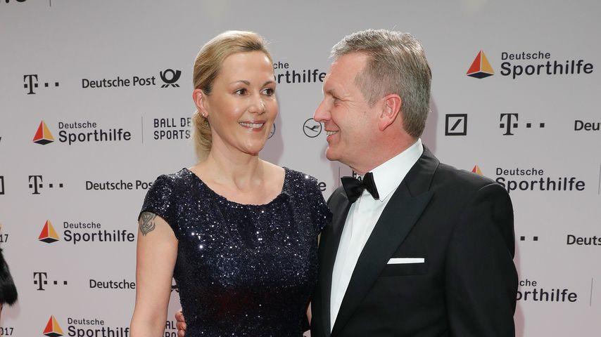 Bettina und Christian Wulff, Februar 2017