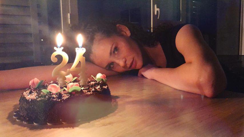 Betty Taube-Günter an ihrem 24. Geburtstag