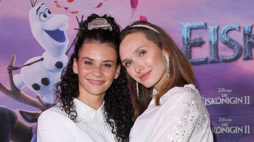 Betty Taube und Anna Wilken, ehemalige GNTM-Teilnehmerinnen
