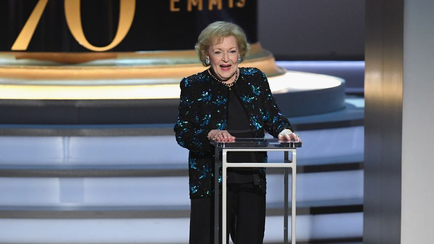 Betty White 2018 in Los Angeles