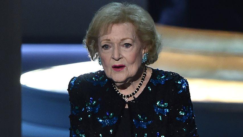 Betty White 2018 bei den Emmy Awards