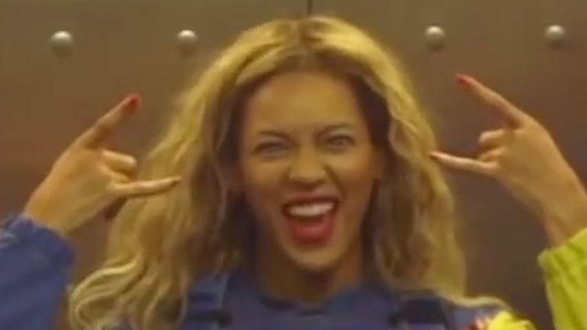 Mutig! Seht Beyoncés 192-Meter-Sprung in die Tiefe