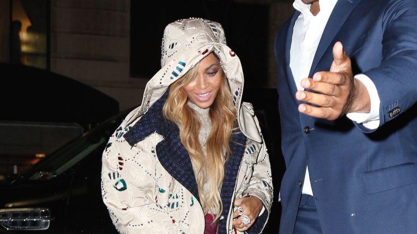 Sexy Date-Style: Beyoncé im Mini-Rock für Dinner mit Jay-Z