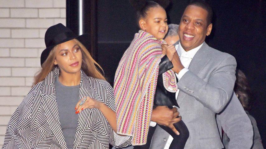 """Beyoncè, Jay-Z und Blue Ivy Carter bei der """"Annie""""-Premiere"""