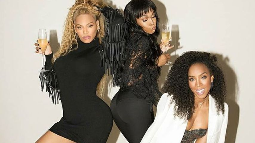 Besuch bei Kelly Rowland: Private Destiny's-Child-Reunion!