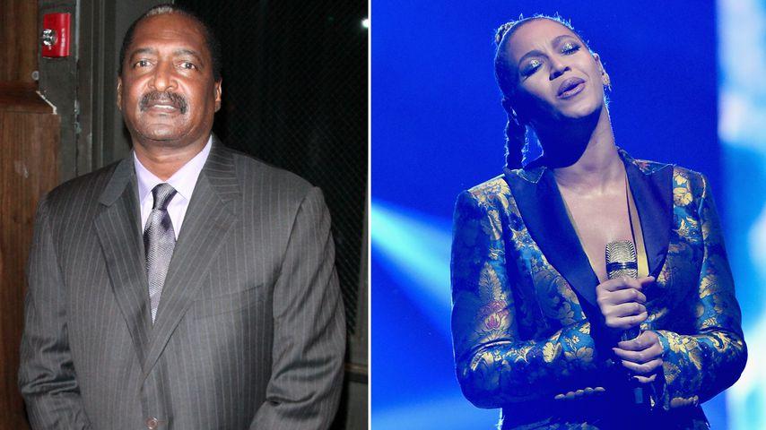 Ups! Verrät Beyoncés Papa hier etwa die Baby-Geschlechter?