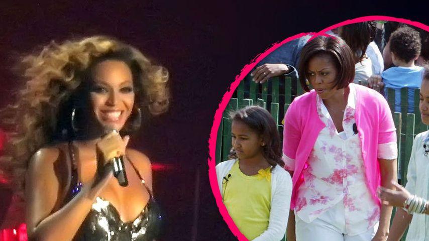 Michelle Obama & ihre Töchter rocken zu Beyoncé