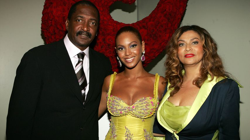 Beyonce, Mathew Knowles und Tina Knowles
