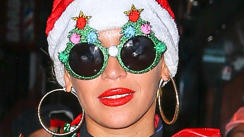 Trashy Christmas: Beyoncé Knowles' bizarrer Weihnachts-Look