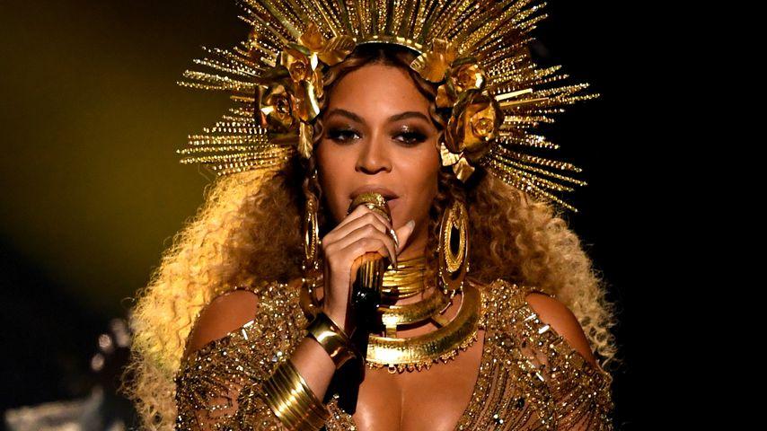 Beyoncé bei einer Grammy-Performance, 2017