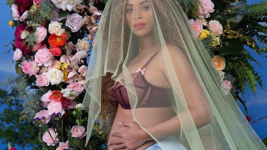 Beyoncé während ihrer zweiten Schwangerschaft