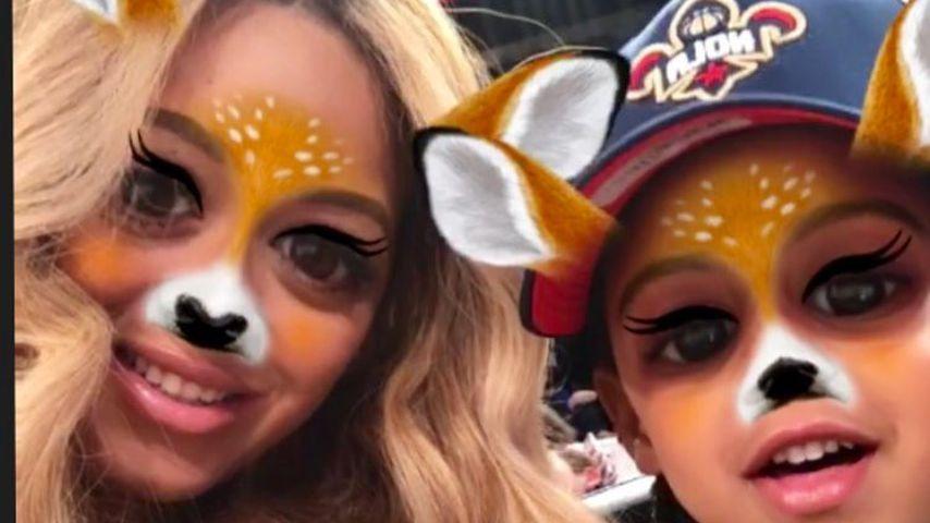 OMG! Fans flippen total aus: Hat Beyoncé etwa Snapchat?