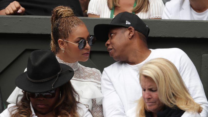 Beyoncé und Jay-Z in Wimbledon 2016