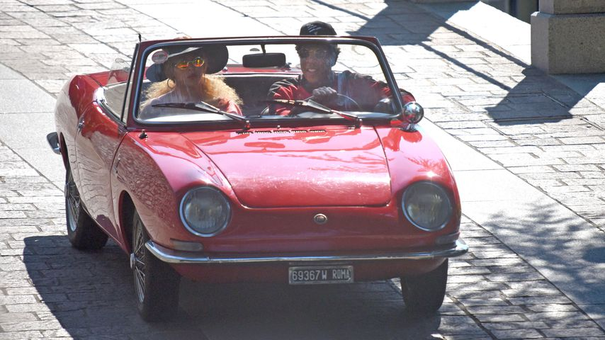 Ausflug im Cabrio: Beyoncé & Jay-Z auf Spritztour in Italien