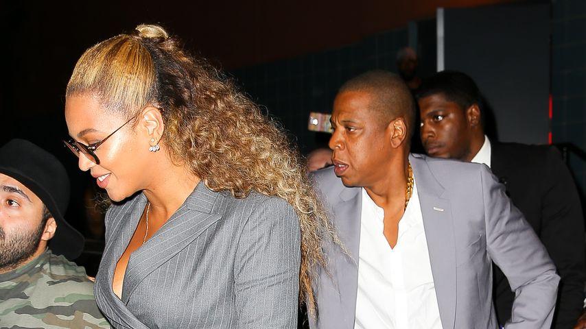 Plötzlich seriös? Beyoncé & Jay-Z im Business-Partnerlook