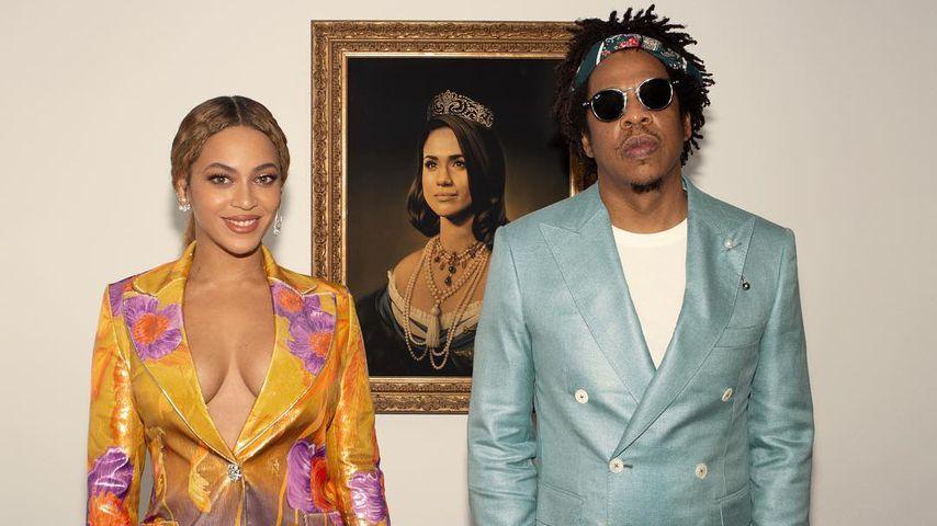 Bei den Brit Awards: Beyoncé ehrt Meghan per Video-Botschaft