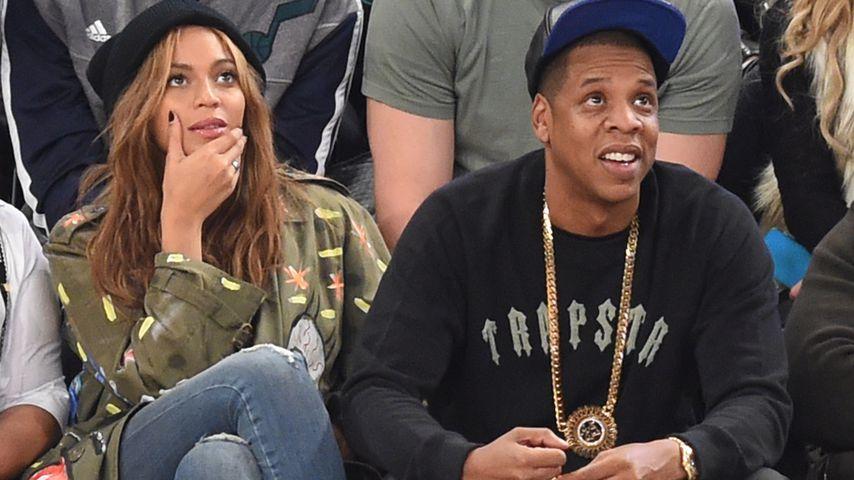 Jay-Z: Darum saßen Beyoncé und er bei Super-Bowl-Hymne