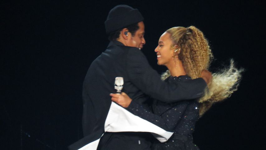 "Beyoncé und Jay-Z bei ihrer ""On the Run II""-Tour"