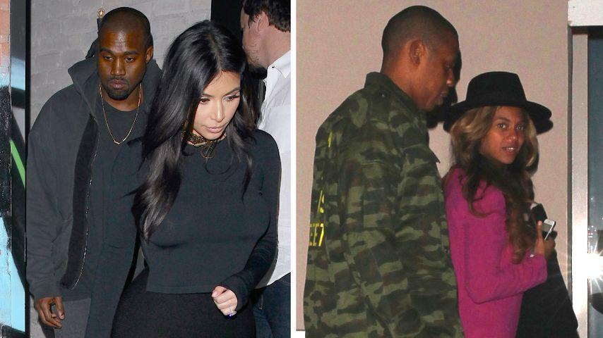Kimye: Tränen nach Doppeldate mit Beyoncé & Jay-Z!