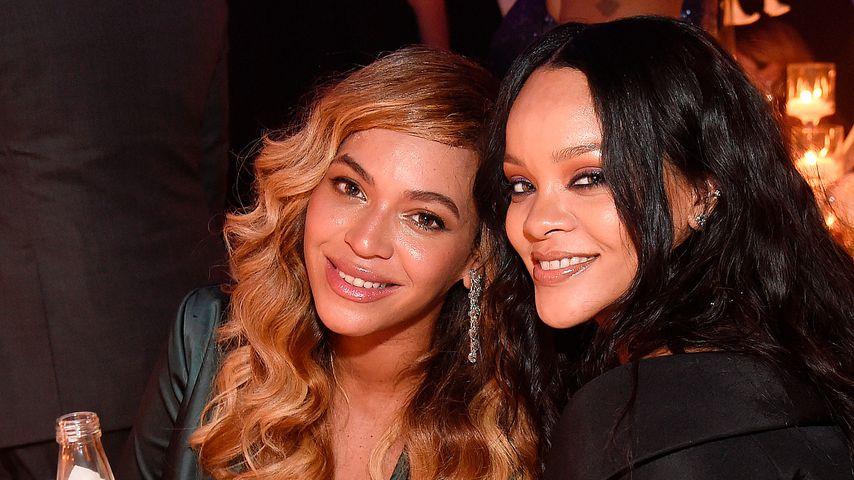 Busenfreundinnen RiRi & Bey: Getuschel beim Diamond Ball!