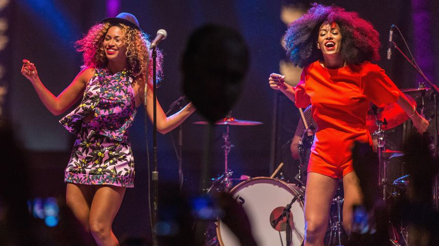 Beyoncé und Solange Knowles im April 2014