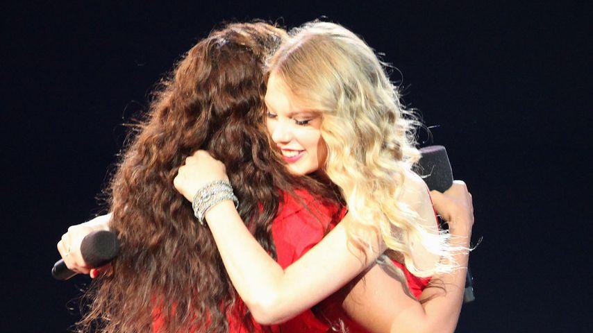 Beyoncé und Taylor Swift bei den VMAs 2009