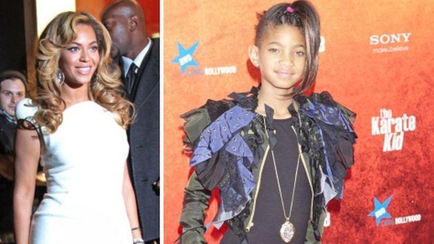 Willow Smith bekommt Tipps von Beyonce