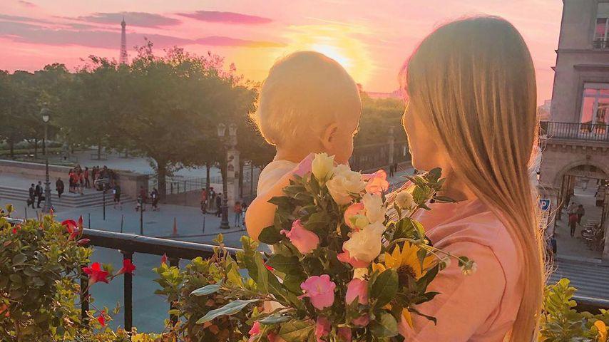 """""""Magisch"""": Ist das Bibis bisher schönstes Mama-Bild mit Lio?"""
