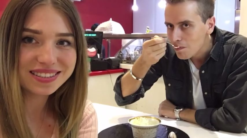 Bibi Heinicke und Julian in der teuersten Eisdiele der Welt