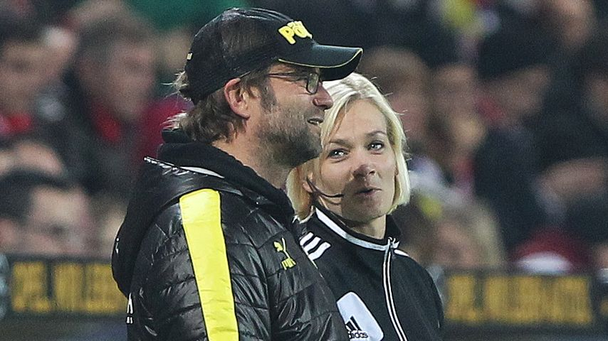 Jürgen Klopp und Bibiana Steinhaus