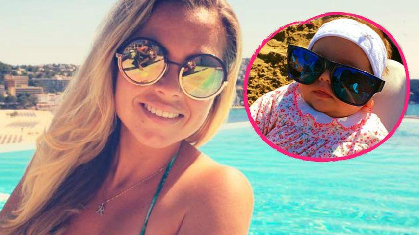 Mit 2 Monaten: So cool ist Rebecca Kratz' süßes Baby!