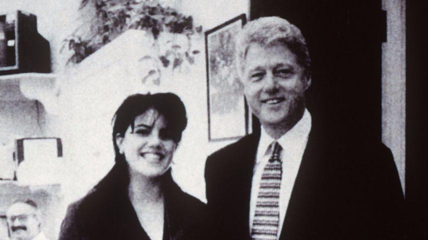 US-Präsident Bill Clinton und Monica Lewinsky im Jahr 1998