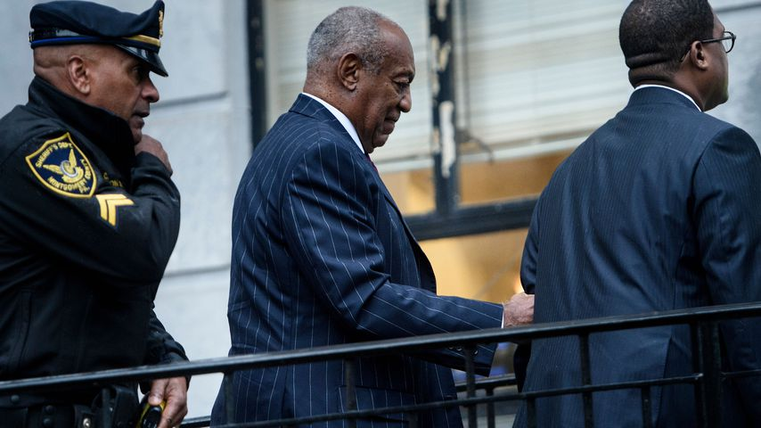 Bill Cosby beim Montgomery County Courthouse in Pennsylvania