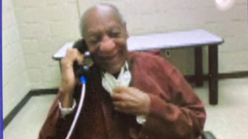 Bill Cosby bei einem Videocall im Gefängnis