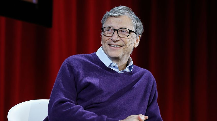 Bill Gates im Hunter College in New York