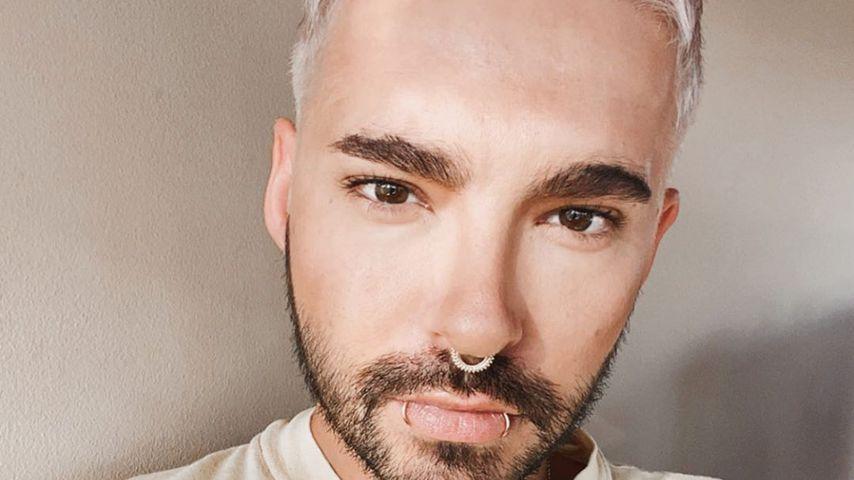 Blonder Buzz-Cut: Bill Kaulitz überrascht mit Make-over