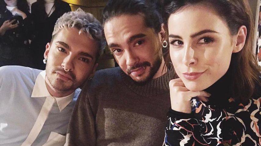 Cooles Trio: Lena Meyer-Landrut & die Tokio-Hotel-Twins!