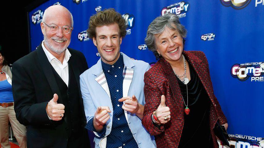 Luke Mockridge und seine Eltern Bill Mockridge und Margie Kinsky