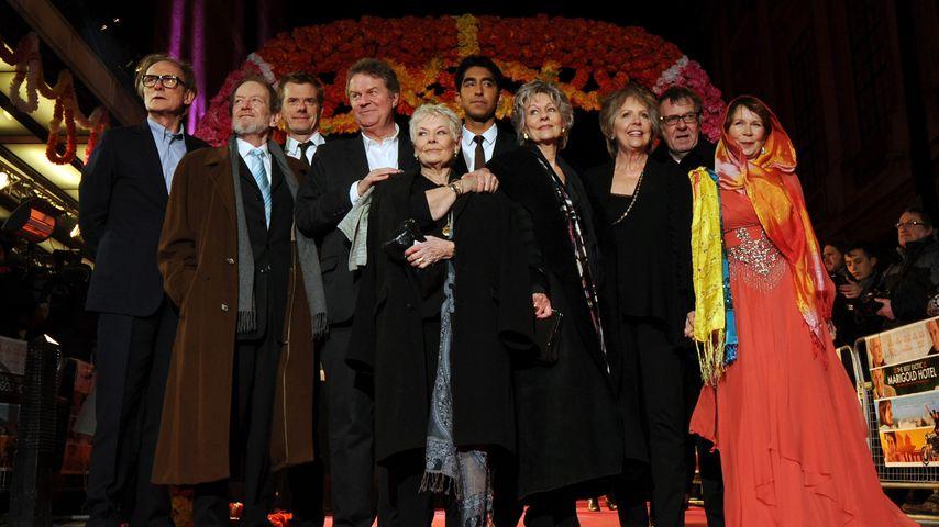 """Weltpremiere von """"Best Exotic Marigold Hotel"""" in London im Jahr 2012"""