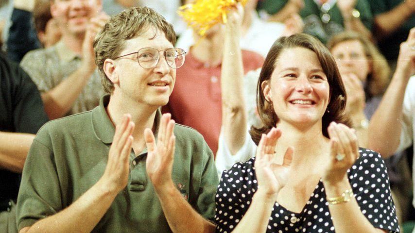 Bill und Melinda Gates, 1998