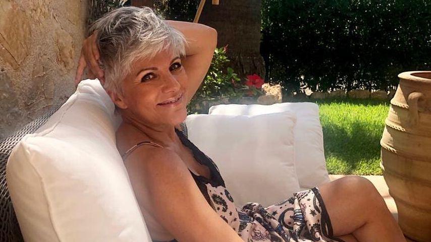 Birgit Schrowange auf Mallorca 2019