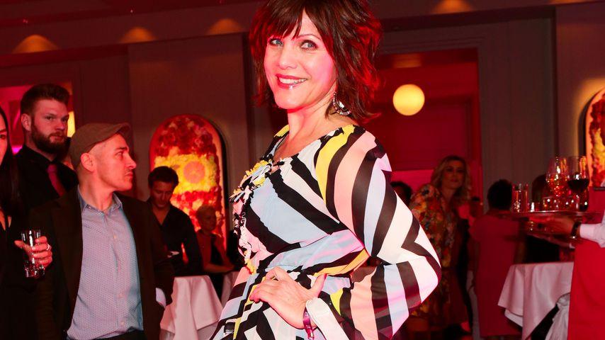 Birgit Schrowange bei einer Party in Berlin im März 2017