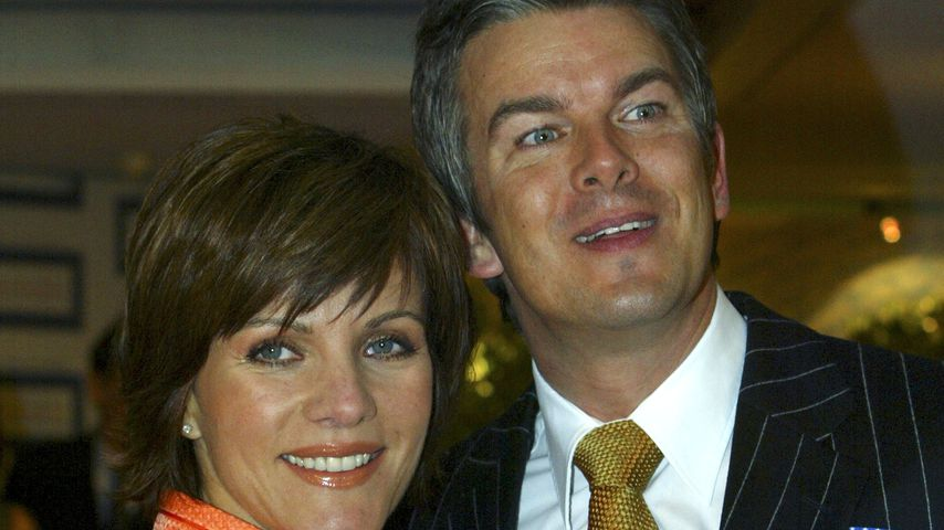Birgit Schrowange und Markus Lanz beim Deutschen Medienpreis 2005