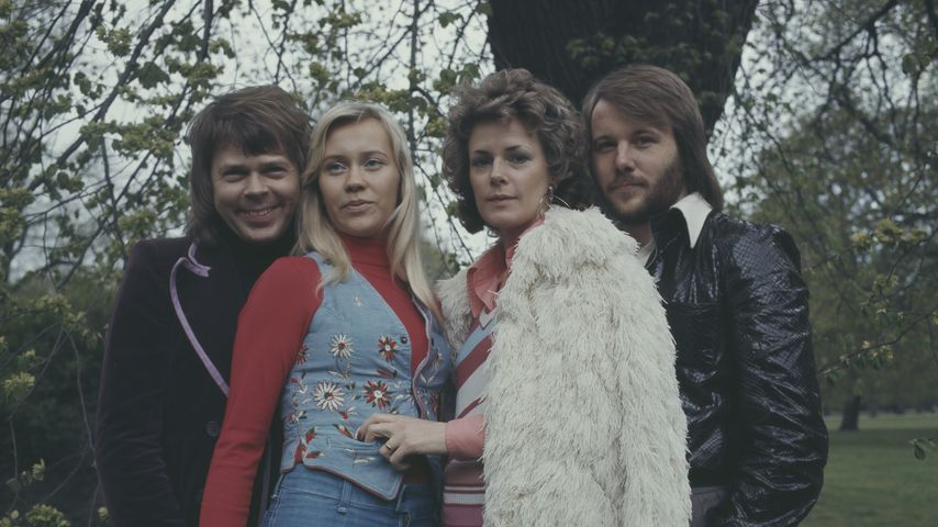 Björn Ulvaeus, Agnetha Fältskog, Anni-Frid Lyngstad und Benny Andersson von ABBA