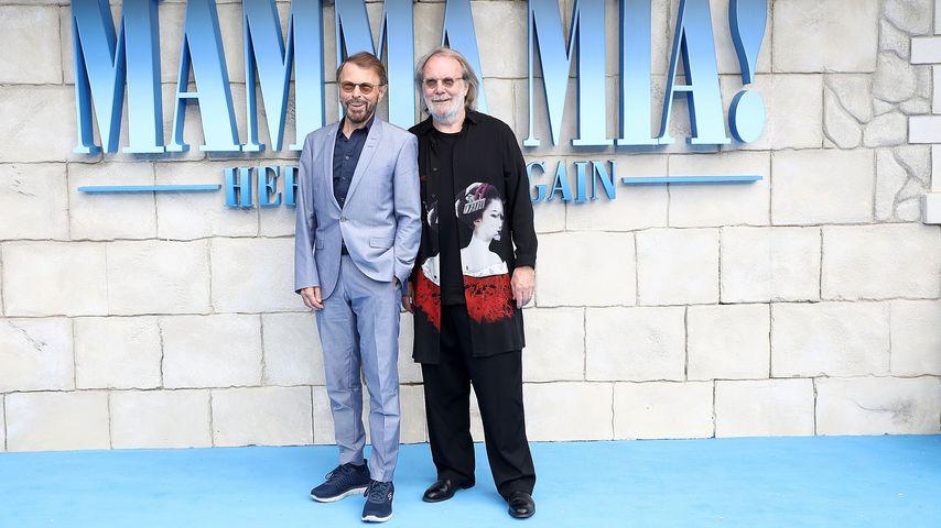 Björn Ulvaeus und Benny Andersson, ABBA-Mitglieder