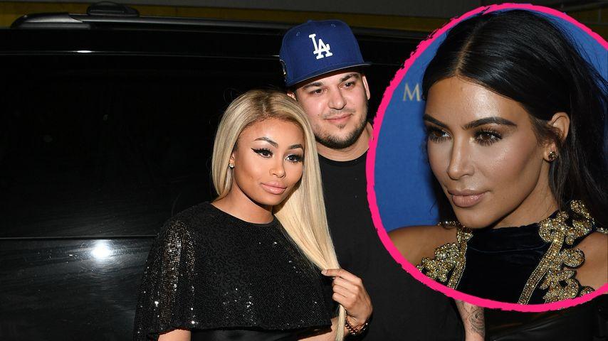 Kim Kardashian: Überfordert mit Robs & Blac Chynas Liebe