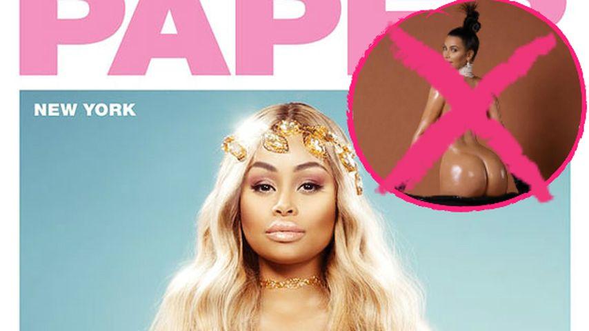 Blac Chynas nackter Babybauch schlägt Kims Popo-Cover