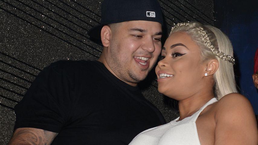 Blac Chyna & Rob Kardashian happy: Das Baby strampelt jetzt!