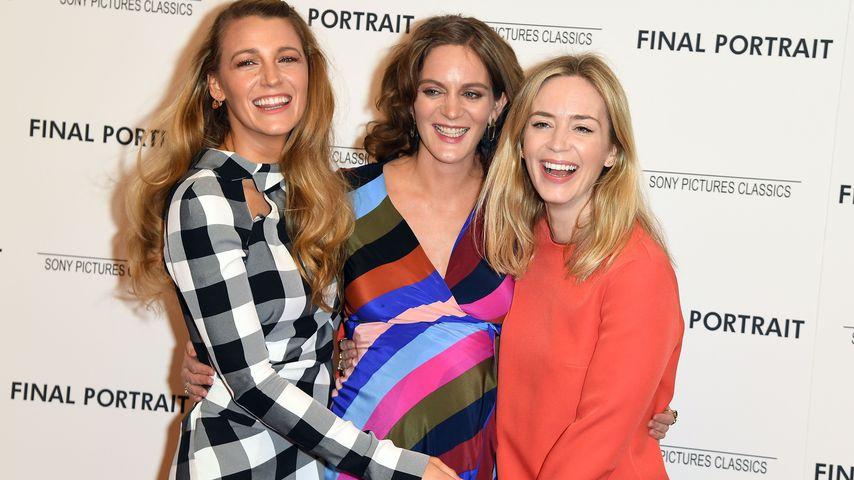 Blake Lively, Felicity und Emily Blunt bei Screening im Guggenheim Museum