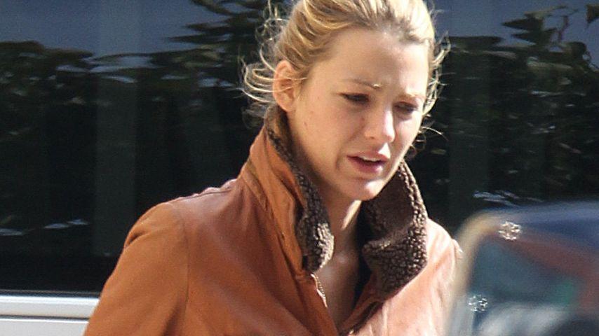 Blake Lively: Versteckt sie hier ihren Babybauch?